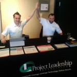 PLA's Rich LIlly and Phil Schwan pumped for Technology Tuesday