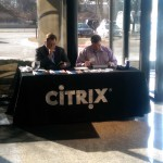 Citrix Sponsor Table