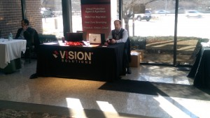 Vision Solutions Sponsor Table
