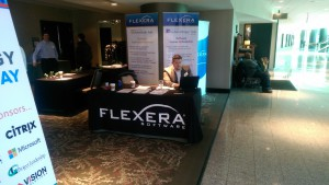 Flexera Sponsor Table